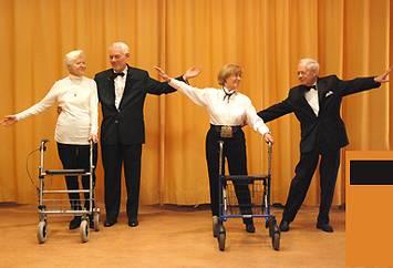 Tanzkurse mit Rollator: Kein Witz sondern eine tolle Sache für Senioren!