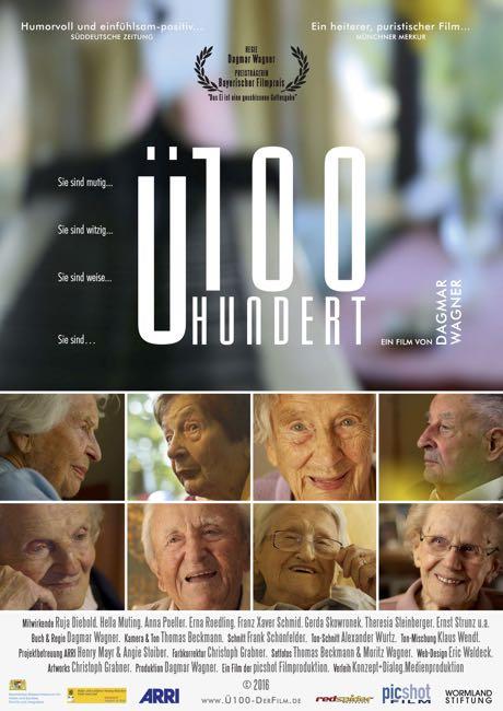 """Der Kinodokumentarfilm """"Ü100"""" von Dagmar Wagner wird ab dem 6. April 2017 in den deutschen Kinos zu sehen sein!"""